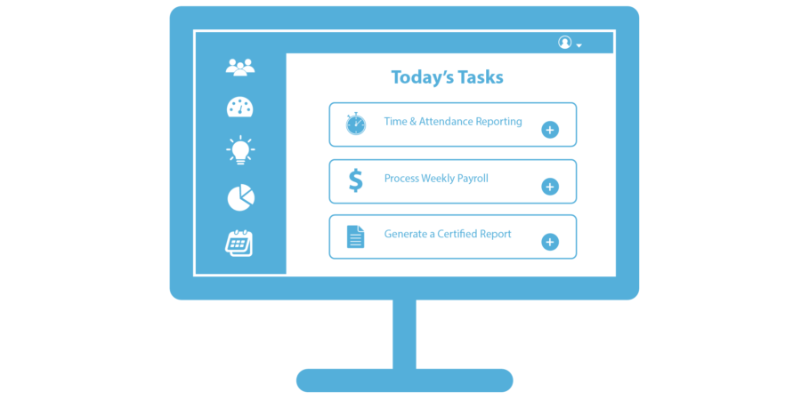 ebacon software for payroll computer icon