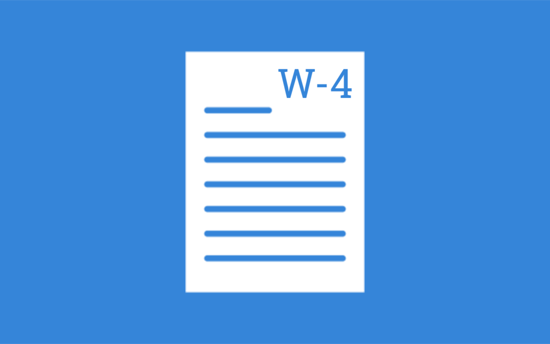 A closer look at the new W-4