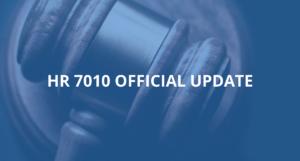 HR 7010 Update