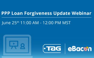 Loan Forgiveness Webinar Coming Soon