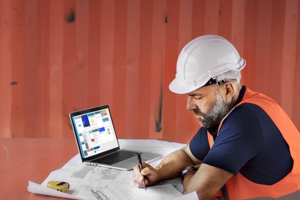 Construction paperwork