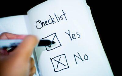 Certified payroll checklist
